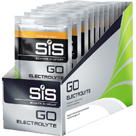 SiS GO Electrolyte Drink Box 18x40g, Tropical